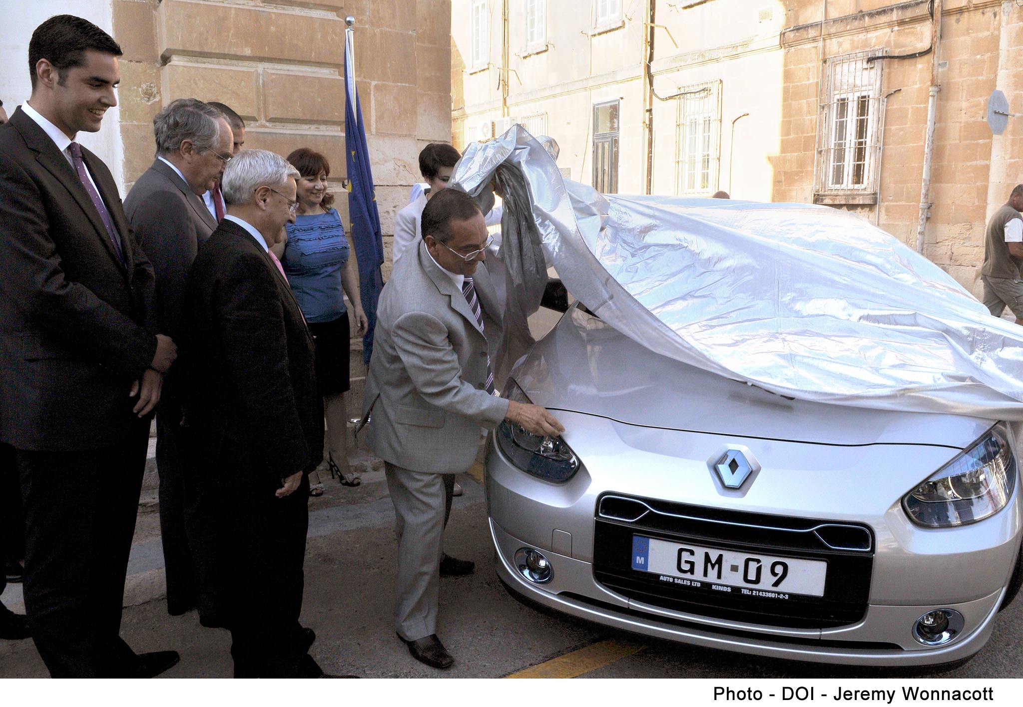 Launch Of The First Electric Vehicles Demo In Malta By Minister