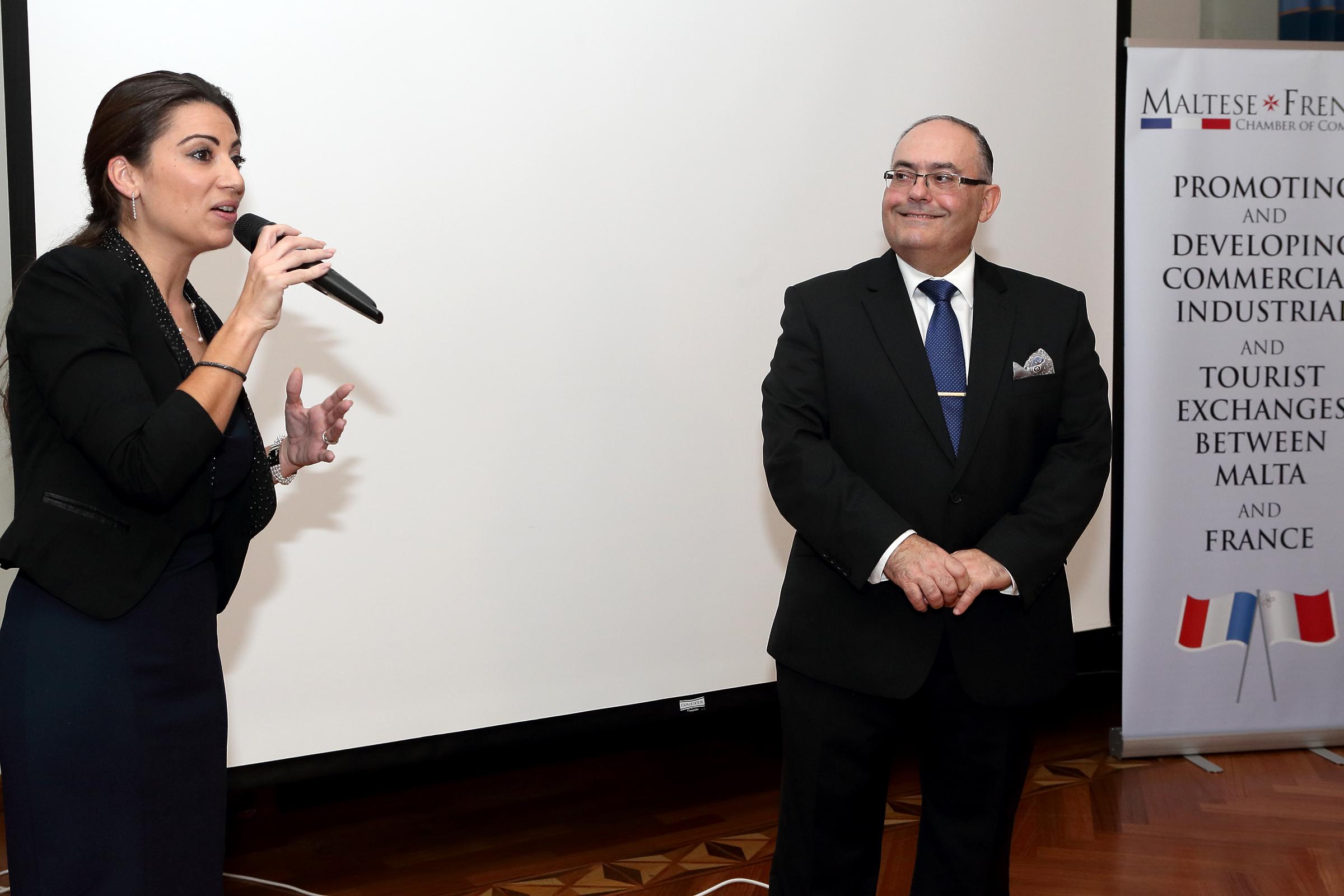 D ner annuel de la chambre de commerce franco maltaise for Chambre de commerce franco colombienne