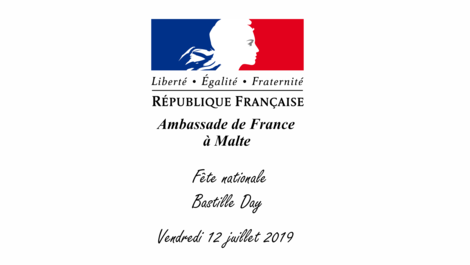 Celebration of the Bastille Day at the Residence de France