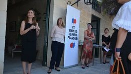 Reception for the pupils of the Association France Malta, in the presence (...)