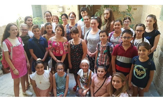 The French Embassy in Malta welcomed some thirty students from the Alliance Française de Malte