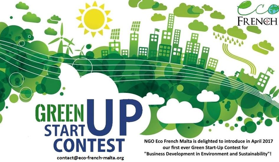 Green start-up contest launched by Eco French Malta! - La